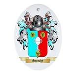 Stritche Oval Ornament