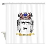 Striker Shower Curtain