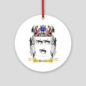 Striker Round Ornament