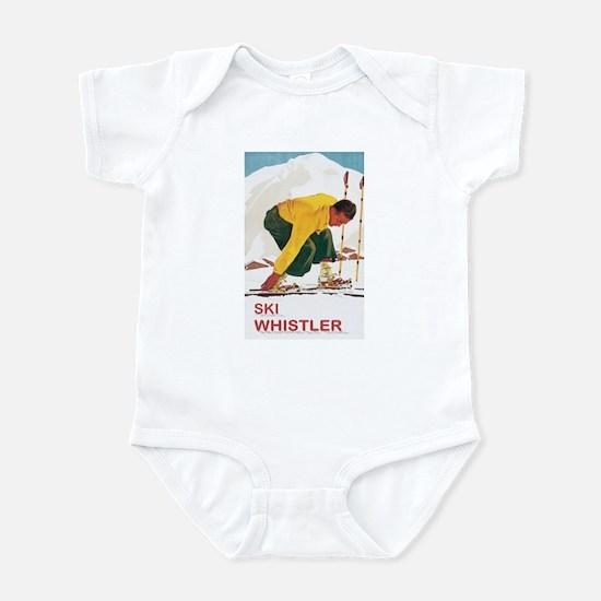 Ski Whistler BC Infant Bodysuit