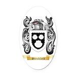 Strickland Oval Car Magnet