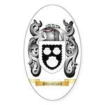 Strickland Sticker (Oval 50 pk)