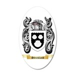 Strickland 20x12 Oval Wall Decal