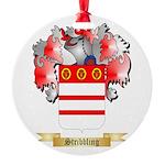 Stribbling Round Ornament