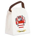 Stribbling Canvas Lunch Bag