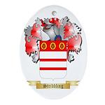 Stribbling Oval Ornament