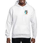 Stretch Hooded Sweatshirt