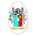 Stretch Sticker (Oval)