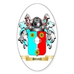 Stretch Sticker (Oval 50 pk)