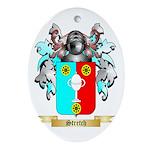 Stretch Oval Ornament
