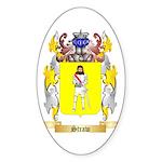 Straw 2 Sticker (Oval 50 pk)