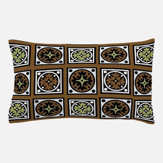 Aztec Brown Quilt Pillow Case