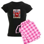 Strausz Women's Dark Pajamas