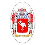 Strausz Sticker (Oval 10 pk)