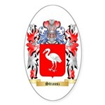 Strausz Sticker (Oval 50 pk)