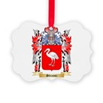 Strausz Picture Ornament