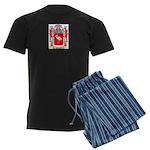 Straus Men's Dark Pajamas