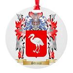 Straus Round Ornament