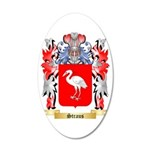 Straus 35x21 Oval Wall Decal