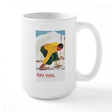 Ski Vail Colorado Large Mug
