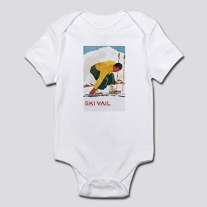 Ski Vail Colorado Infant Bodysuit