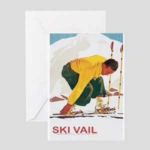 Ski Vail Colorado Greeting Card