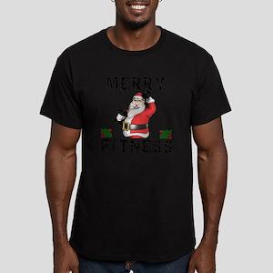 Merry Fitness Santa T-Shirt