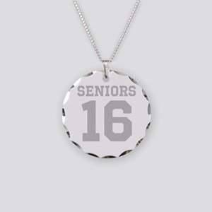 SENIORS 16 Necklace Circle Charm