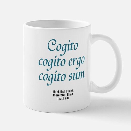 Cogito ergo sum -  Mug
