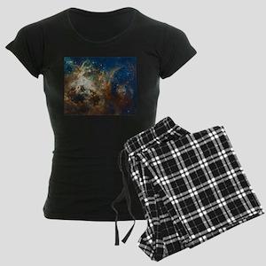 Tarantula Nebula Galaxy Women's Dark Pajamas