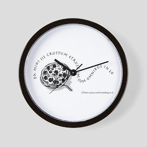 I'll Have A Pizza... Wall Clock