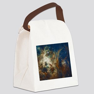 Tarantula Nebula Galaxy Canvas Lunch Bag