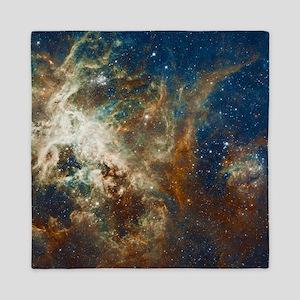 Tarantula Nebula Galaxy Queen Duvet