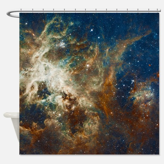 Tarantula Nebula Galaxy Shower Curtain