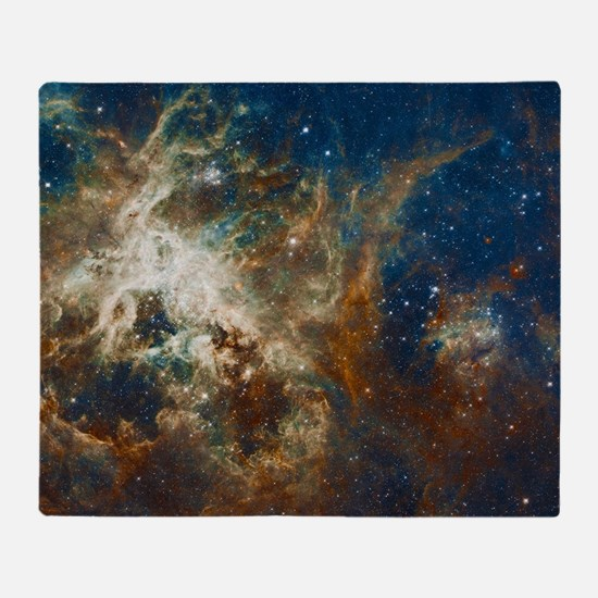 Tarantula Nebula Galaxy Throw Blanket