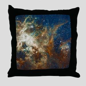 Tarantula Nebula Galaxy Throw Pillow