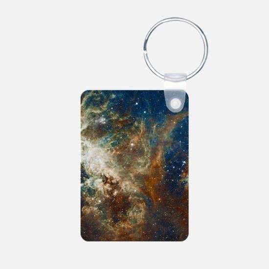 Tarantula Nebula Galaxy Keychains
