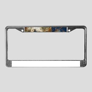 Tarantula Nebula Galaxy License Plate Frame