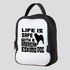 Life Is Safe With A American Es Neoprene Lunch Bag