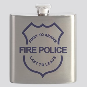 fire police first to arrive Flask