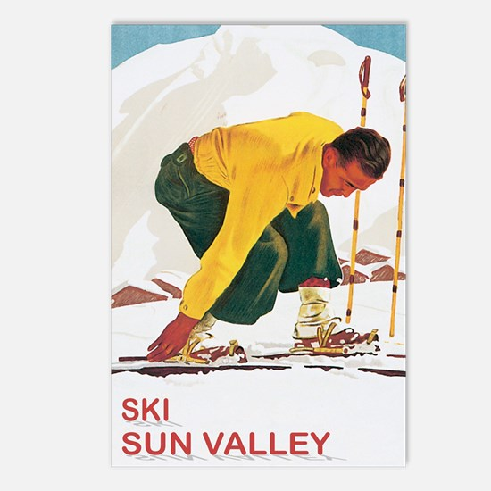Ski Sun Valley Idaho Postcards (Package of 8)