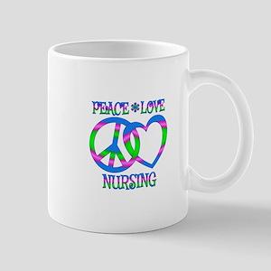 Peace Love Nursing Mug