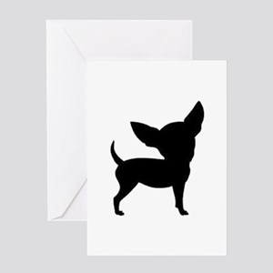 Chihuahua Two 1C Greeting Cards