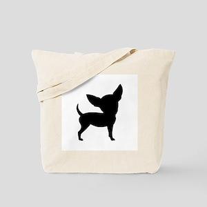Chihuahua Two 1C Tote Bag