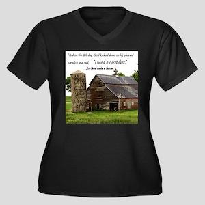 God Made a Fa Plus Size T-Shirt