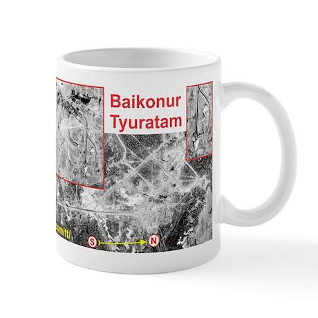 Baikonur Space Launch Site Missile Range Mug Mugs