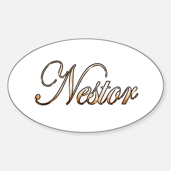 Gold Nestor Decal