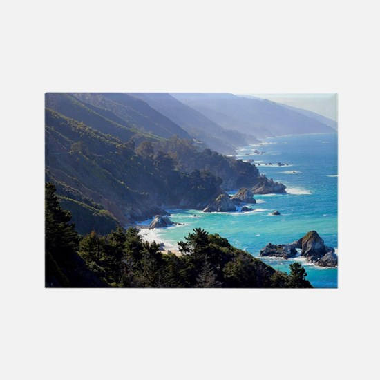 Funny Big sur california Rectangle Magnet