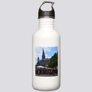 Background in History Water Bottle