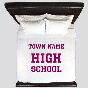 High School King Duvet